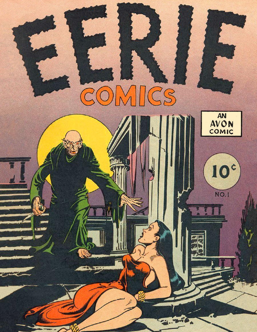 Eerie Comics Revisited: Issue 001