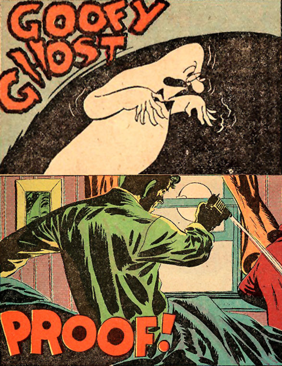 Eerie Comics Revisited: Goofy Ghost and Proof