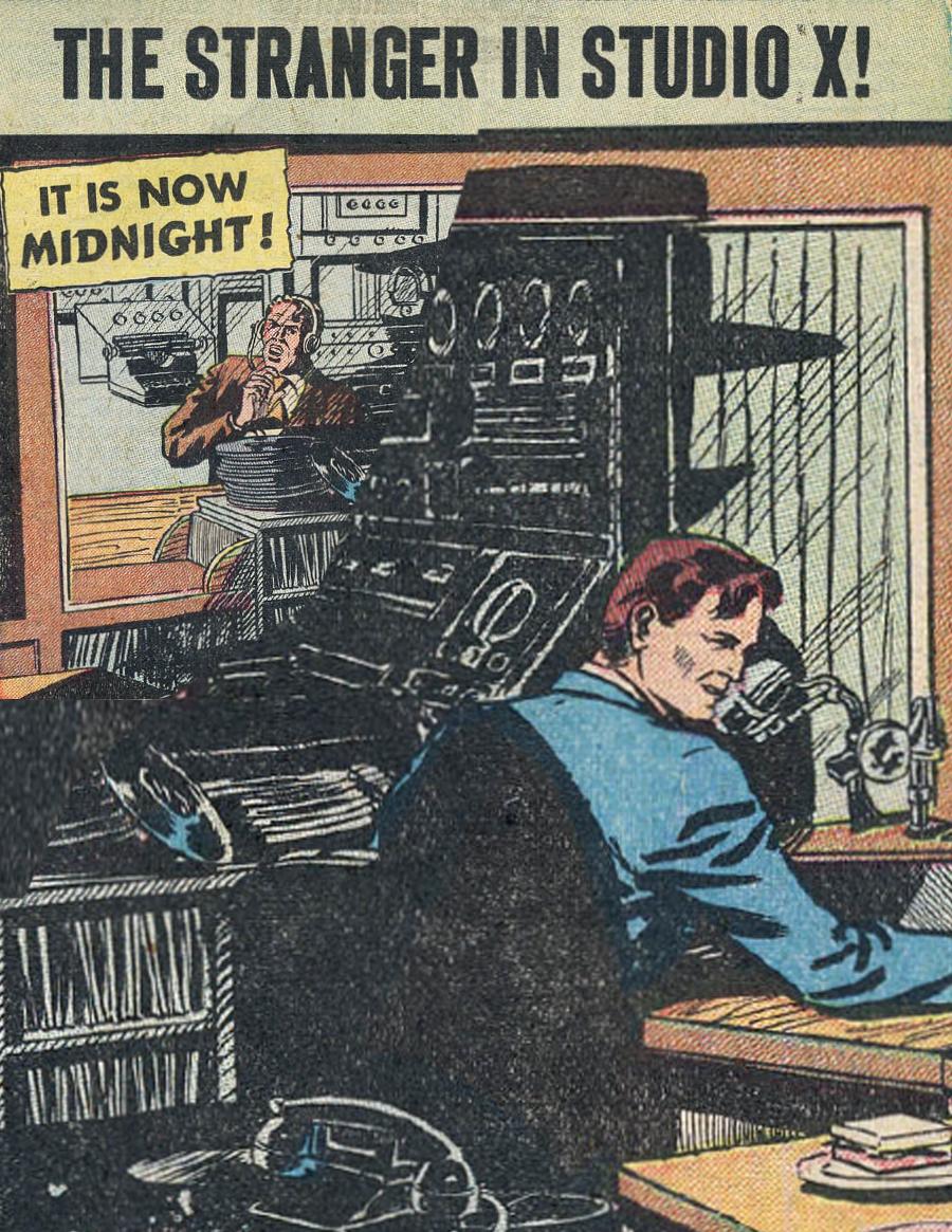 Eerie Comics Revisited: The Stranger in Studio X