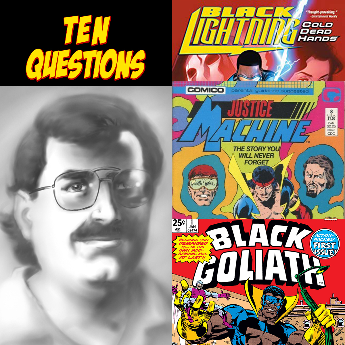 10 Questions for Tony Isabella