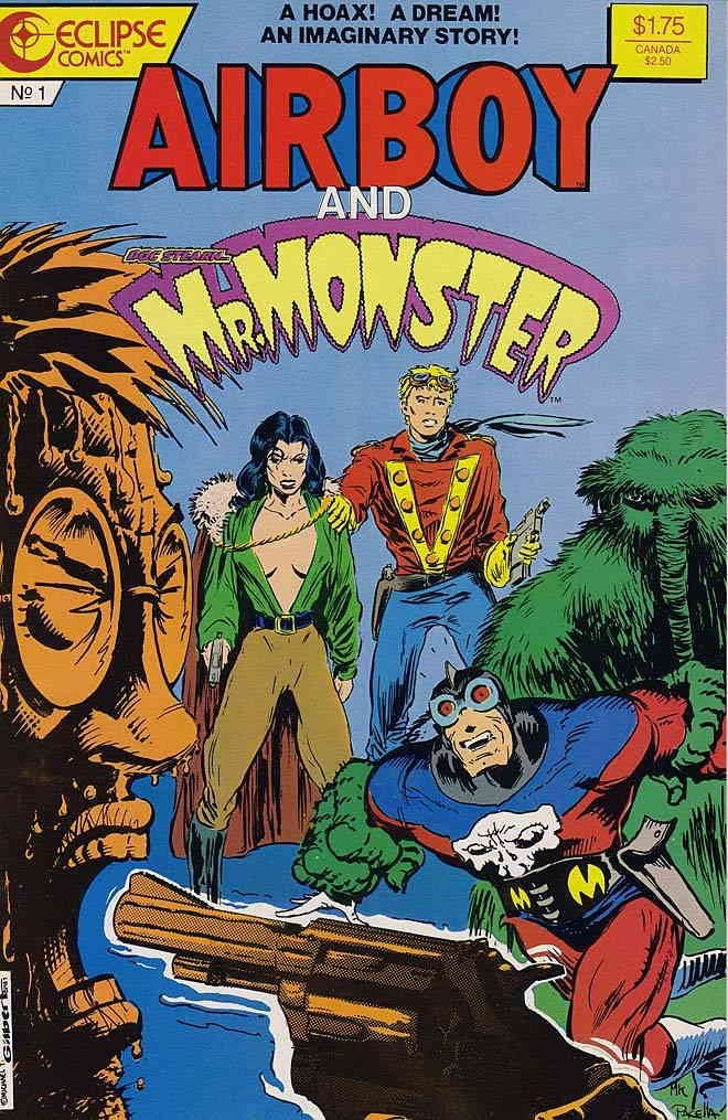 Air Boy and Mr Monster