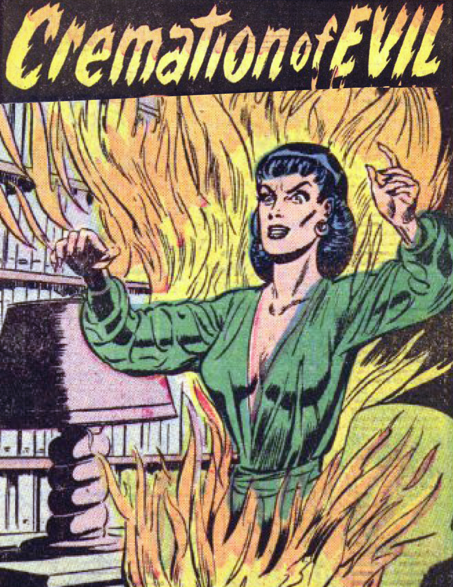 Eerie Comics Revisited: Cremation of Evil