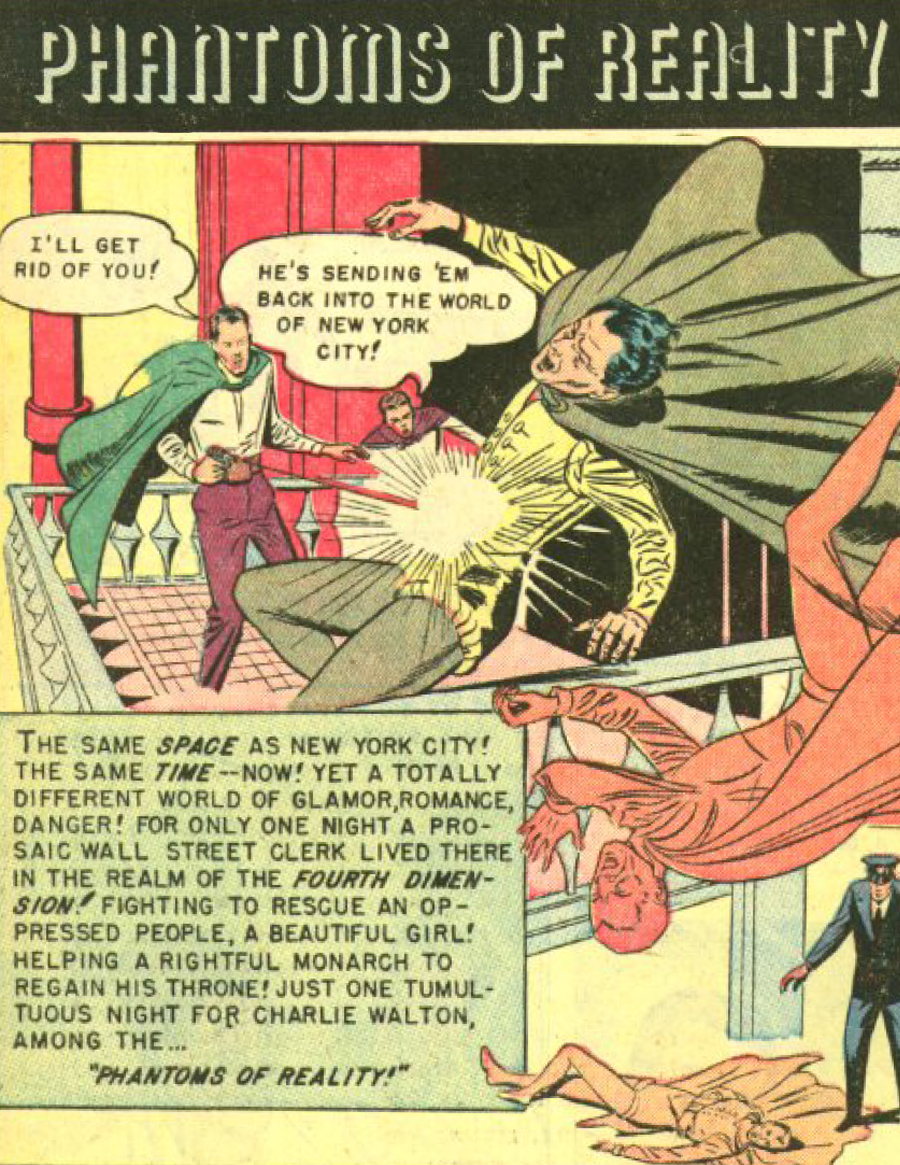 Eerie Comics Revisited: Phantoms of Reality