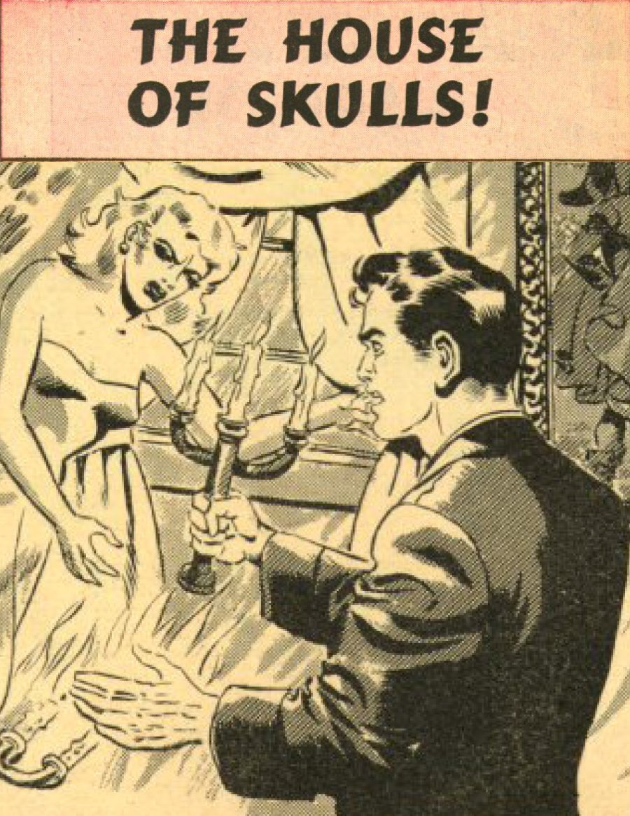 Eerie Comics Revisited: The House of Skulls and Goodies