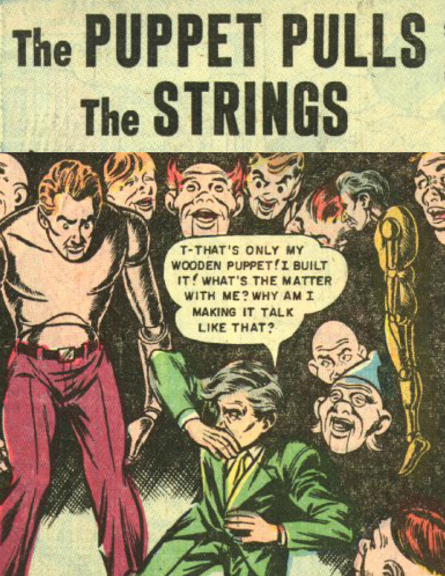 Eerie Comics Revisited: The Puppet Pulls the Strings