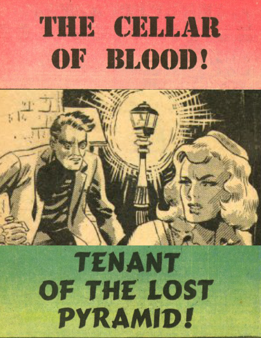 Eerie Comics Revisited: Cellar of Blood and Tenant of the Lost Pyramid
