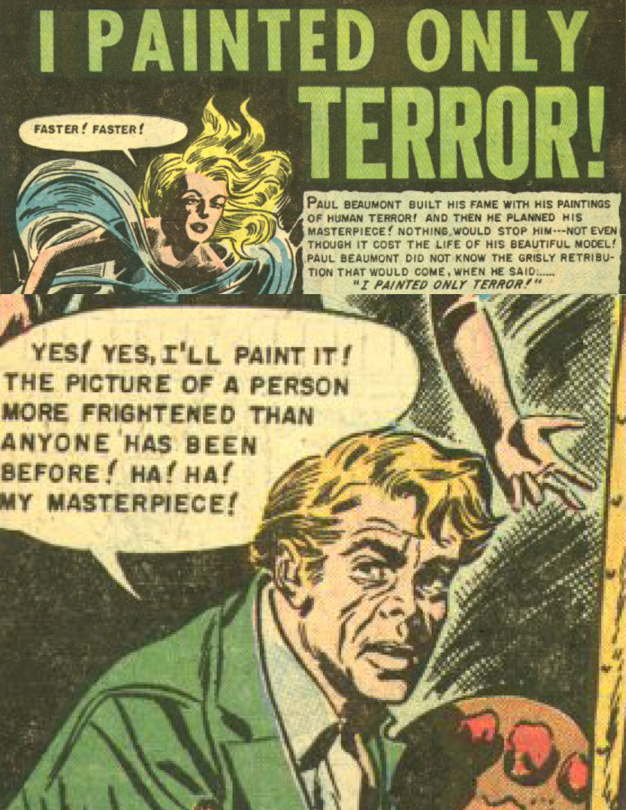 Eerie Comics Revisited: I Painted Only Terror