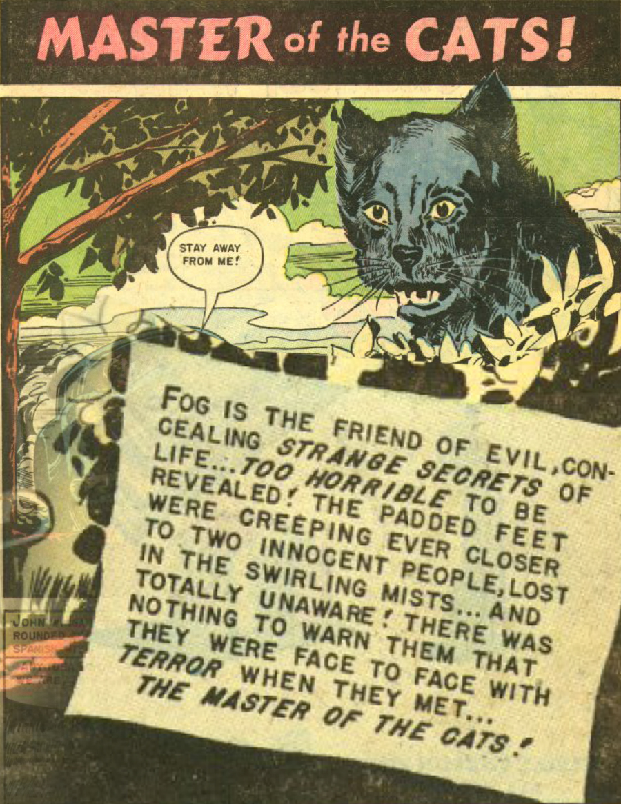Eerie Comics Revisited: Master of the Cats