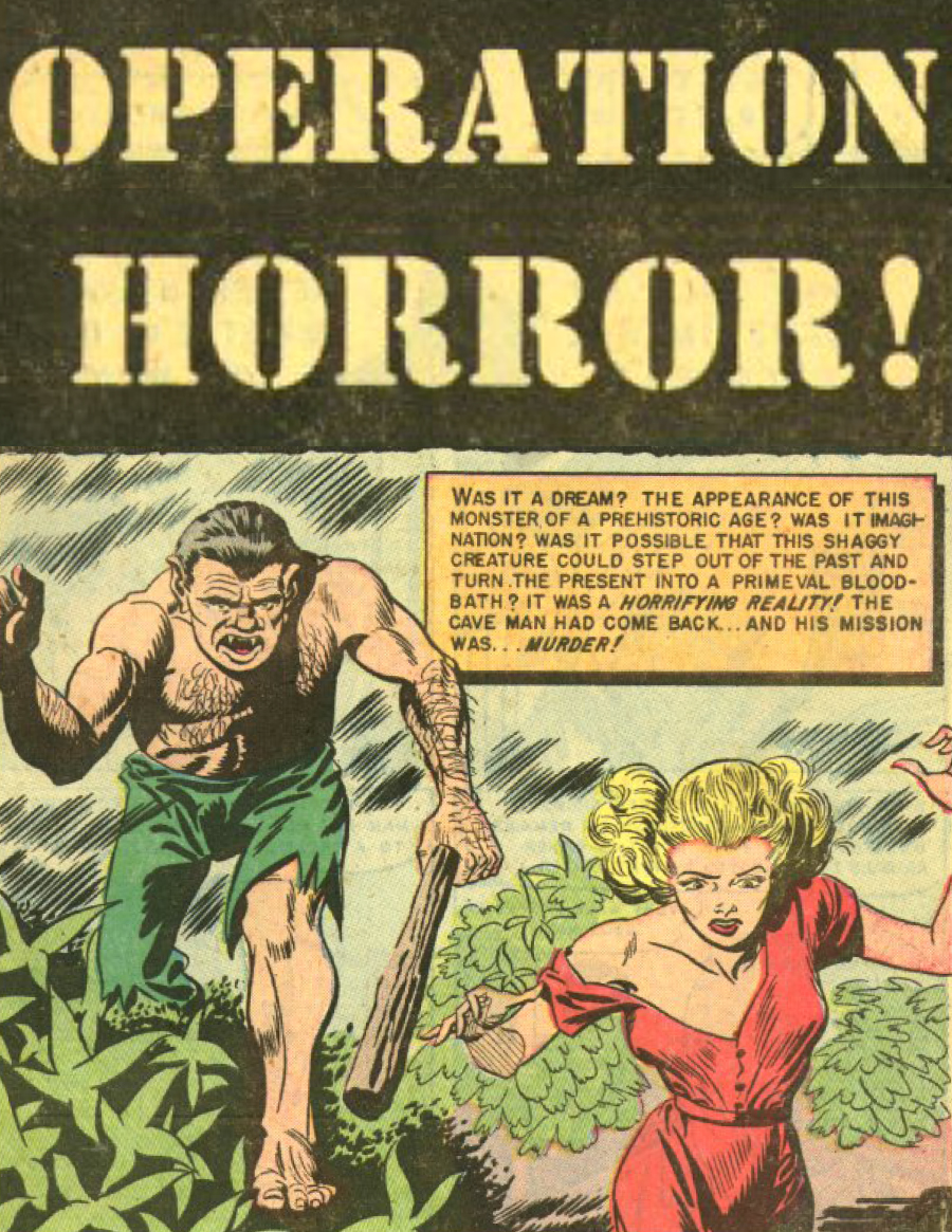 Eerie Comics Revisited: Operation Horror