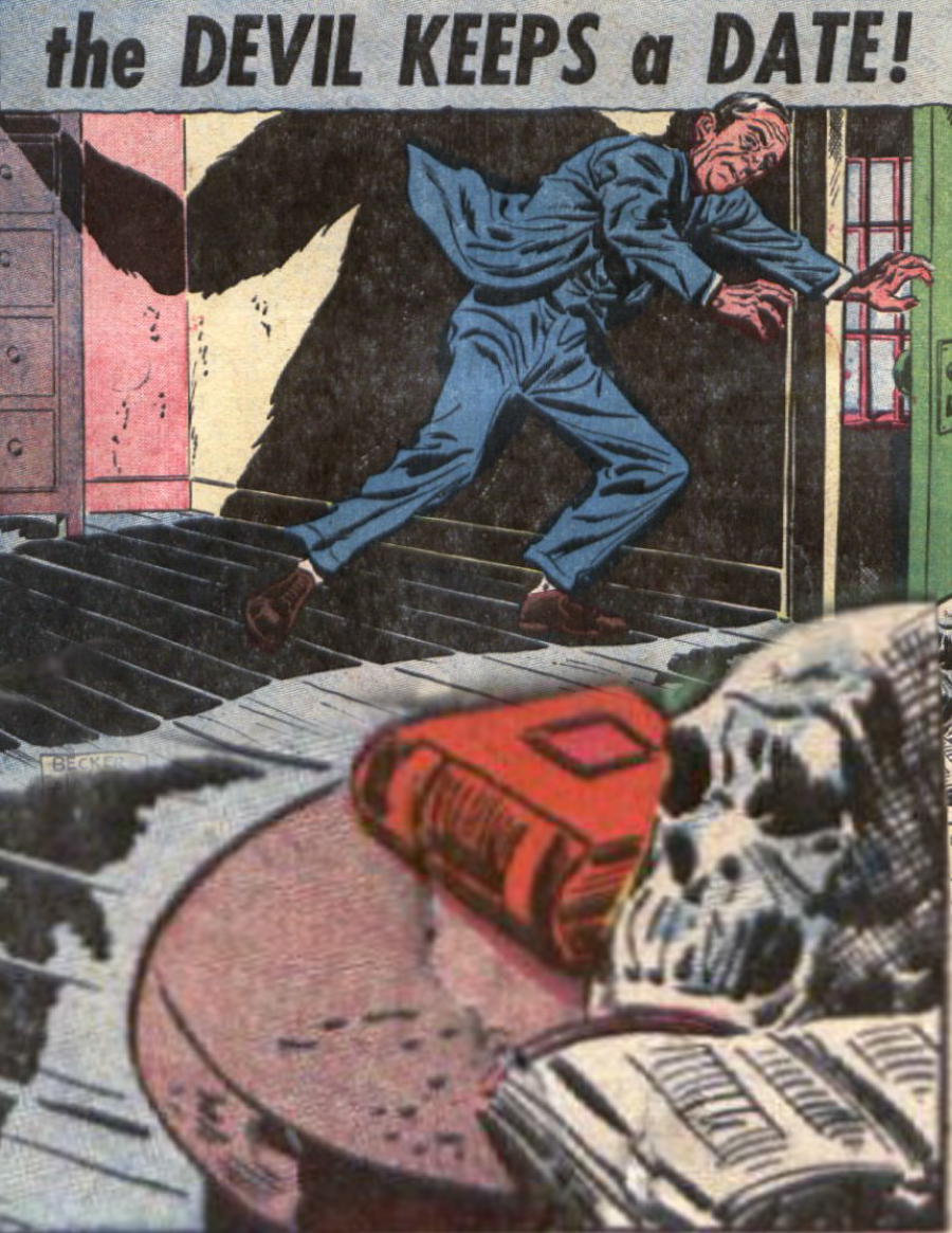 Eerie Comics Revisited: The Devil Keeps a Date