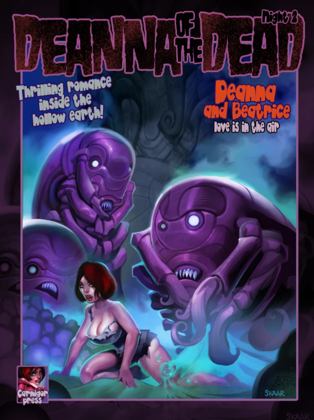 DEANNA OF THE DEAD ISSUE 2