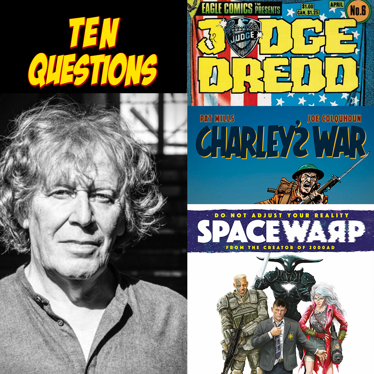 10 Questions for Pat Mills