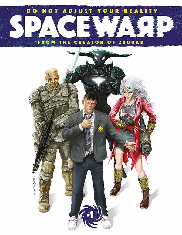 Space Warp by Pat Mills