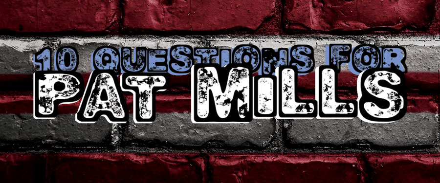 10 Questions for Pat Mills Comic Author