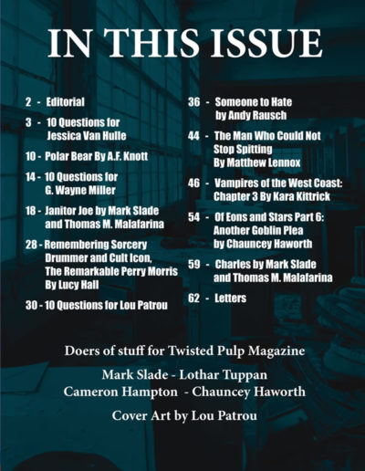 Twisted Pulp Magazine Issue 004